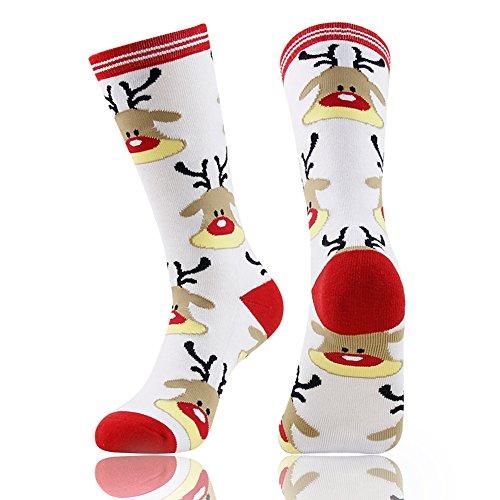 e68b9043bad Reindeer Socks for Christmas