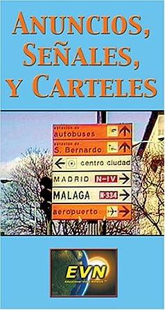 Amazon.com: Anuncios, Señales, y Carteles (Spanish) [VHS ...