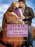 Letter to a Lonesome Cowboy (Montana Mavericks Book 2)