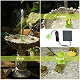 Solar Fountain Water Pump with Panel , 2021 Upgrade
