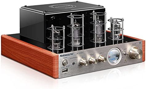 Nobsound MS-10D MKII Hybird Tube Amplifier with Bluetooth/USB/Headphone for Hifi