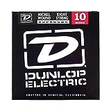 Dunlop DEN1074 Nickel Wound Electric Guitar Strings, Medium, .010-.074, 8 Strings/Set