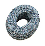 """KUFA Sports 70-Foot Leaded Rope Coil with 5/16"""" Diameter for Crab Trap LP70"""