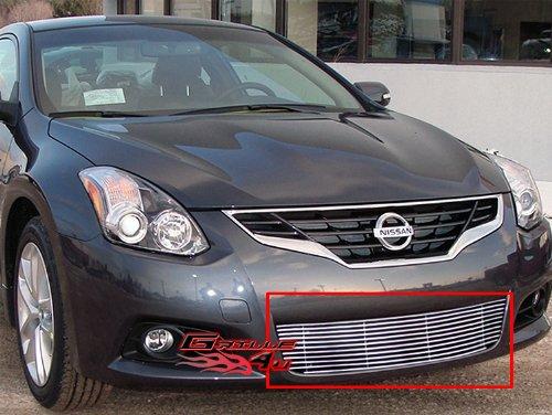 APS N66753A Polished Aluminum Billet Grille Bolt Over for select Nissan Altima -