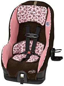 Evenflo Tribute V Convertible Car Seat, Abby II (Discontinued by Manufacturer)