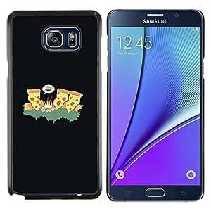 Queen Pattern - FOR Samsung Note 5 N9200 N920 - cheese pizza ninja art fire forest junk food - Cubierta del caso de impacto con el patr???¡¯???€????€??&sbqu