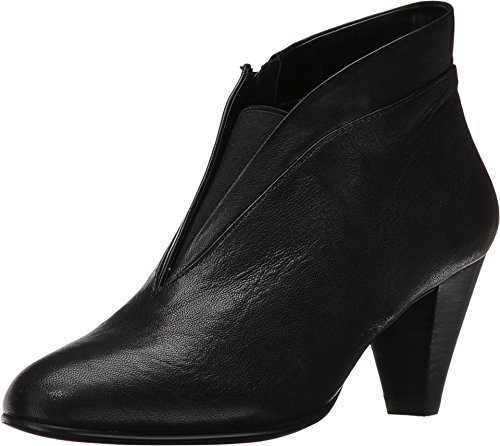 David Tate Women's Natalie Fashion Booties, Black Leather, 10 WW
