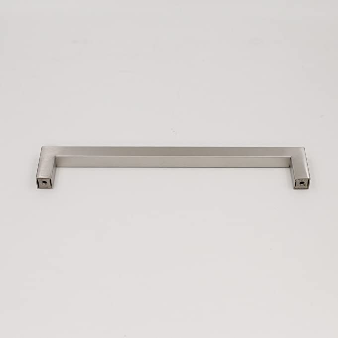 brushed nickel square cabinet pulls drawer handle stainless steel 845in224mm center to hdj12 t bar furniture cupboard cabints pulls 15