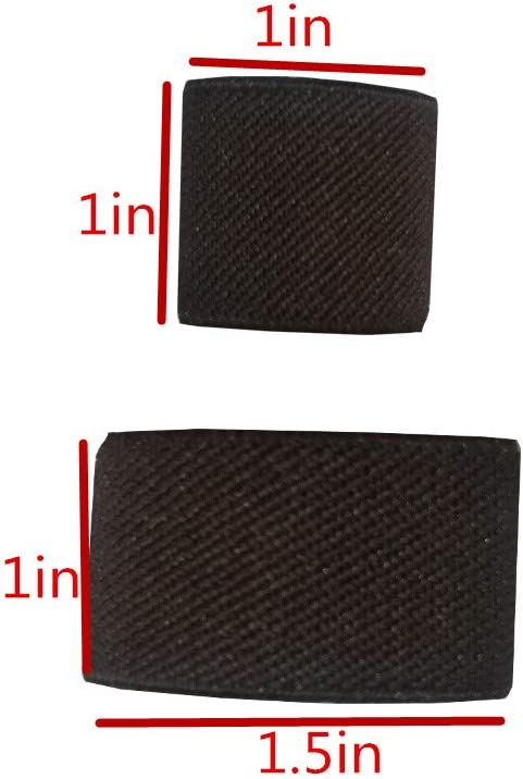 Amlrt Belt Keepers Tactical Elastic Belt Loop Keeper for 1//1.5 Wide Belt Brown