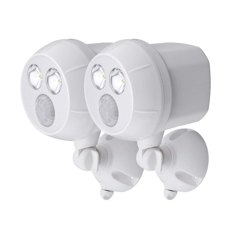 NetBright MBN391 Wireless Networked Battery Motion Activated Spot Light 2 Pk (White) by Mr. Beams (Image #1)