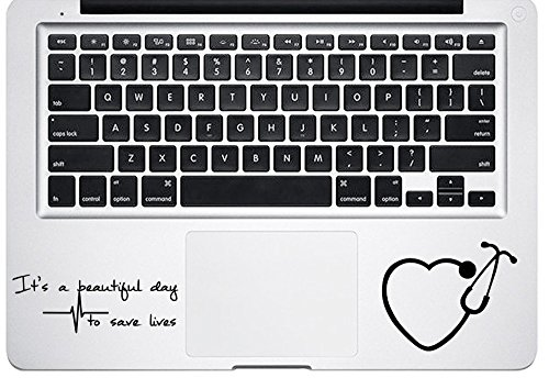 It's A Beautiful Day To Save Lives For Macbook Trackpad Keyb