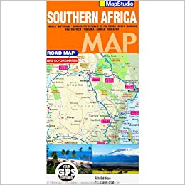 Southern Africa Road Map 1:3, 500, 000  MapStudio: MapStudio