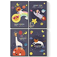 Pillow & Toast Kids Space Posters
