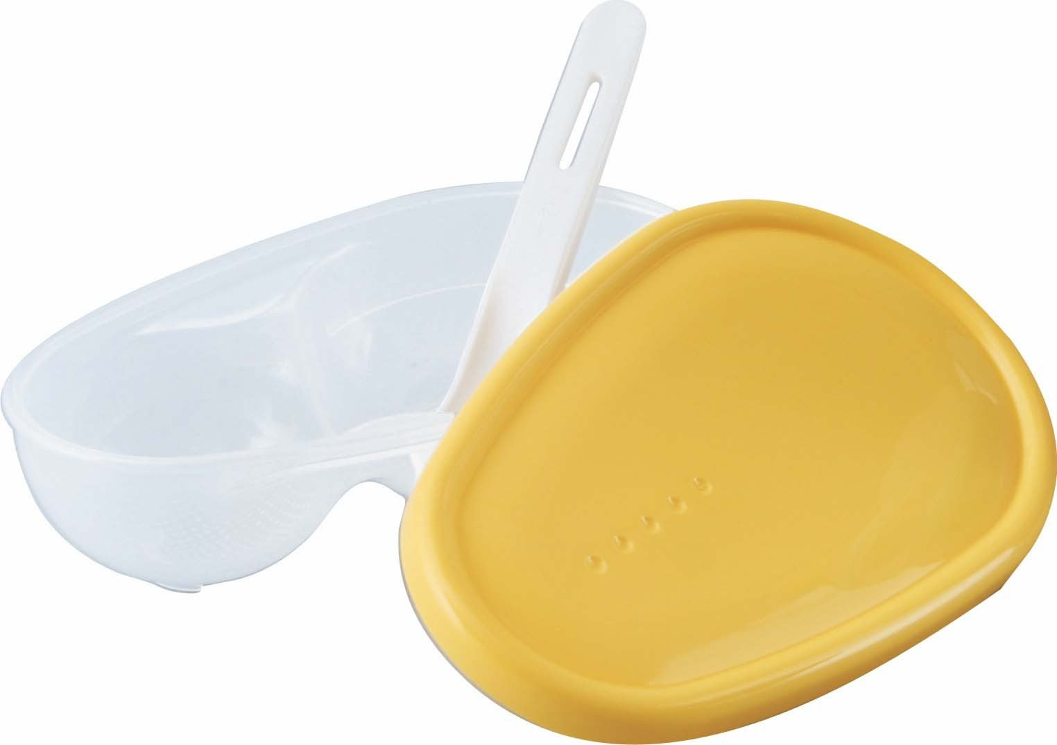 Pigeon Baby Feeding Dish Grinder Bowl with PP Spoon for 6 month+ BPA Free by Pigeon