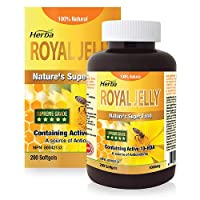 Herba Royal Jelly - Good for The Maintenance of Good Health. 100% Natural, 200 Soft...