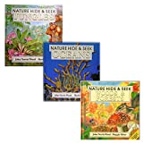 img - for SET OF 3 NATURE HIDE & SEEK BOOKS! Woods & Forests, Rivers & Lakes, and Jungles (Nature Hide & Seek) book / textbook / text book