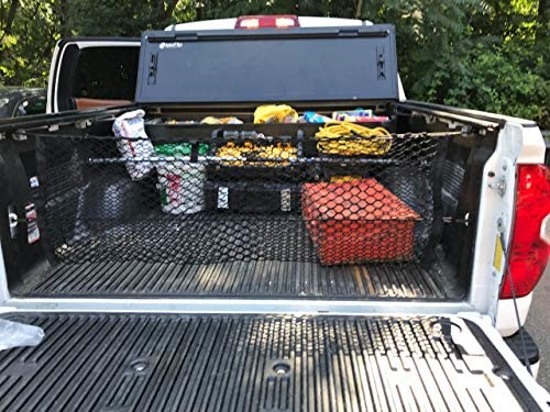 Truck Bed Envelope Style Trunk Mesh Cargo Net for Toyota Tundra 2007-2019 New Trunknets Inc