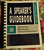 Speaker's Reference, O'Hair, Dan and Stewart, Robert Olden, 0312258488