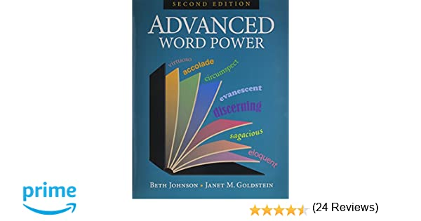 Advanced Word Power: Beth Johnson, Janet M. Goldstein ...