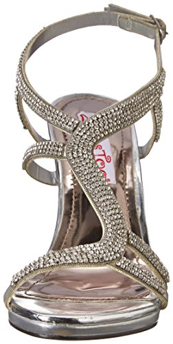 Sandal Anita 2 Lips Women Dress Silver Too Too p6pvqwxUY