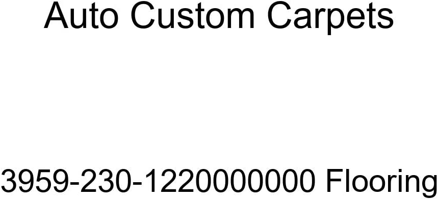 Auto Custom Carpets 3959-230-1220000000 Flooring