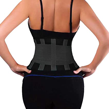 Sweat Sports Workout Waist Trainer Corset Neoprene Trimmer Girdle Belt Cincher Slimming Vest Hourglass Body Shaper