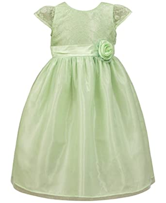 b1584a320ae Jayne Copeland Toddler Girls Mint Glitter Bodice Special Occasion Dress (2T)
