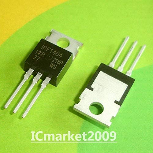 FidgetKute 100 PCS IRF1404 TO-220 Power MOSFET