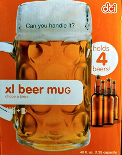 DCI XL Beer Mug (Xl Beer Glass compare prices)