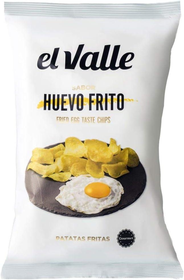 El Valle Patata sabor huevo frito 130 g