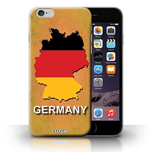 KOBALT® Hülle Case für iPhone 6+/Plus 5.5   Deutschland/Deutsch Entwurf   Flagge Land Kollektion