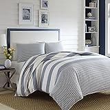 Nautica 220085 Fairwater Comforter Set,Blue,Full/Queen