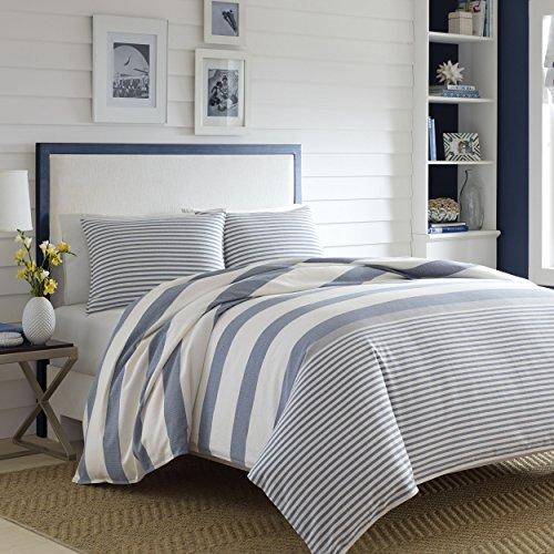 Nautica Fairwater Comforter Set Full Queen Blue