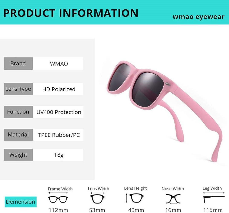 Amazon.com: Gafas de sol polarizadas Wayfarer para niños Mom ...