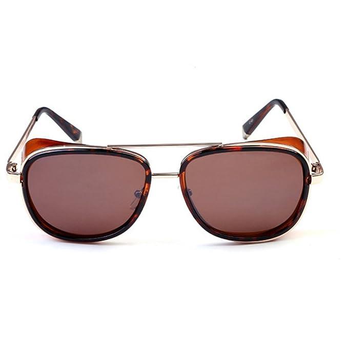 Amazon.com: Gafas de sol Iron Man para hombre y mujer ...