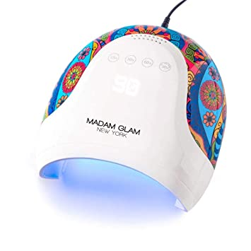 Amazon.com: Señora Glam PRO 48W LED/UV Lámpara de Uñas ...