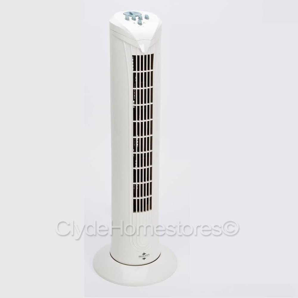 Mini Air Cooling Standing Tower Fan Electric Fan Quiet 2 Speed For Home Office