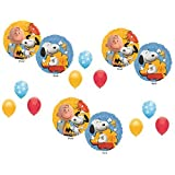 Peanuts Charlie Brown NEW MOVIE! Balloons Decoration Supplies Party Snoopy by Qualatex