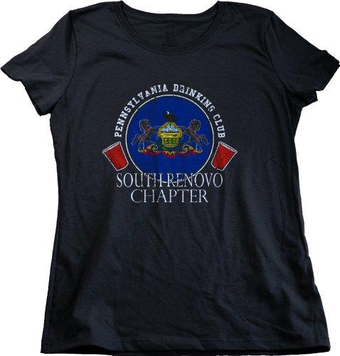 Pennsylvania Drinking Club, South Renovo Chapter | Ladies' T-shirt-Medium