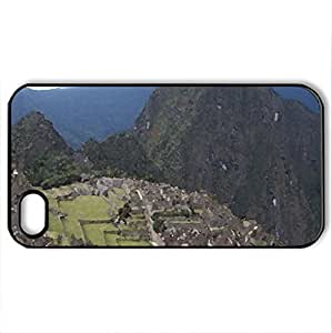 iphone covers 1 of the 7 world wonders - Case Cover for iPhone 6 plus and 4s (Watercolor style, Black)