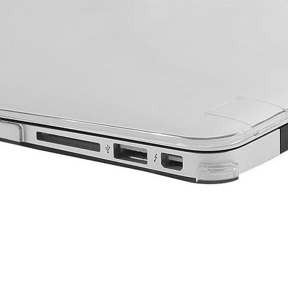Amazon.com: eDealMax plástico Brillante Duro cristalino claro de la cubierta protectora de la caja de 13inch de Apple MacBook Air: Electronics