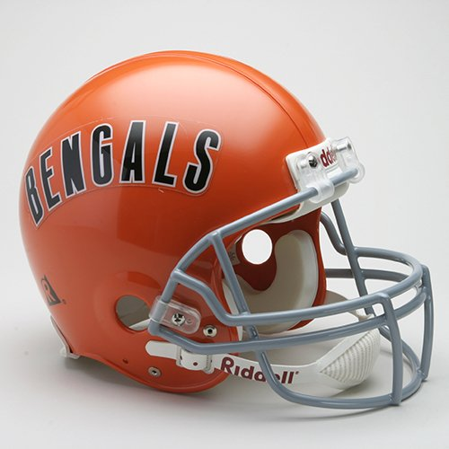 NFL Riddell Cincinnati Bengals 1968-1979 Throwback Full-Size Authentic Helmet by Riddell