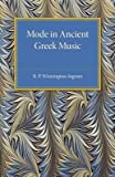 img - for [(Mode in Ancient Greek Music)] [Author: R. P. Winnington-Ingram] published on (February, 2015) book / textbook / text book