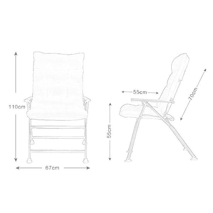 Amazon.com: Sillas plegables para exteriores, cómodas sillas ...