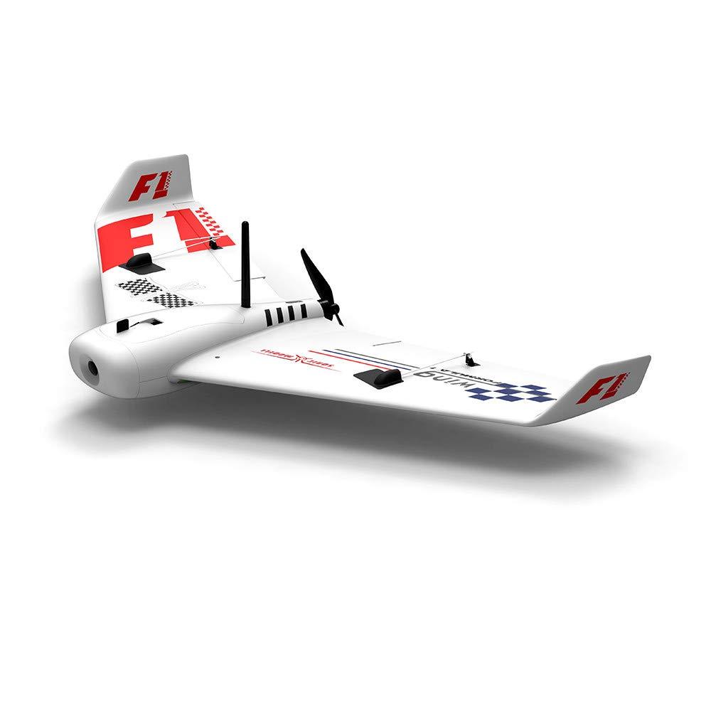 Wokee Flugmodell F1 Flügel 83,3 cm SpaßnWeiß Super High Speed  PV EPP Racing Flügel RC Flugzeug PNP-gesteuertes Flugzeug - ferngesteuerte Drohne-Elektroflugmodell
