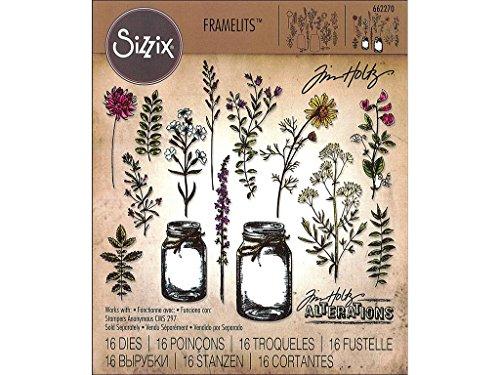 Sizzix Tholtz Framelits Die Flower Jar (Die Flower)