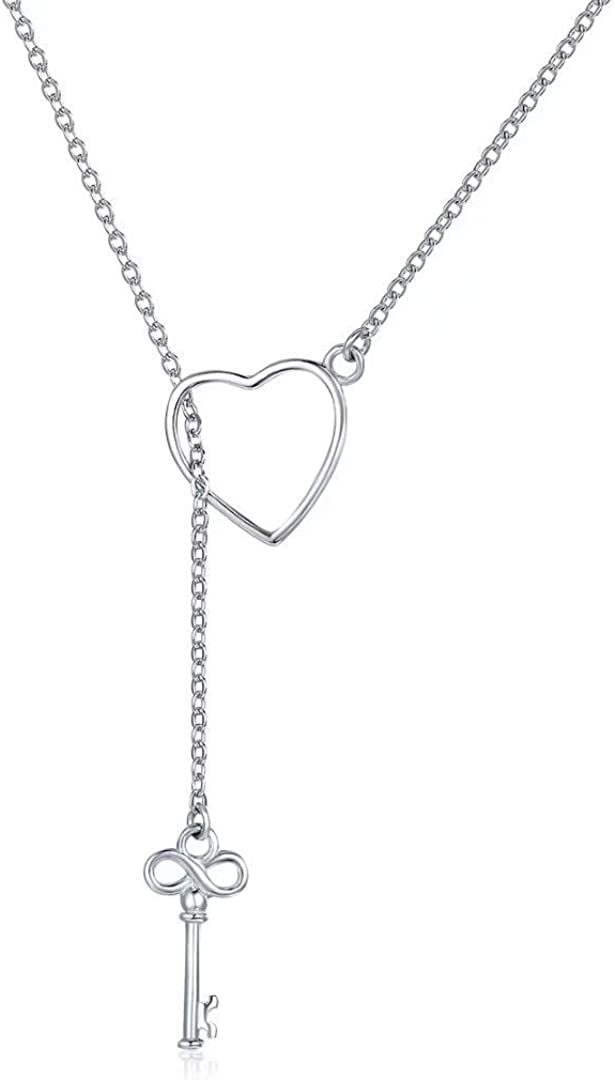 Infinity Circle Of Love Pendant Gold Tone Sterling Silver 18 Necklace Iced Out