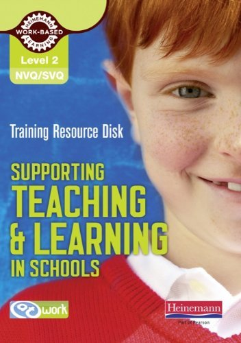 Level 2 Certificate Supporting Teaching and Learning in Schools Training Resource Disk (NVQ/SVQ Supporting Teaching and Learning in Schools Level 2) by Eva Cartwright (2010-12-03)