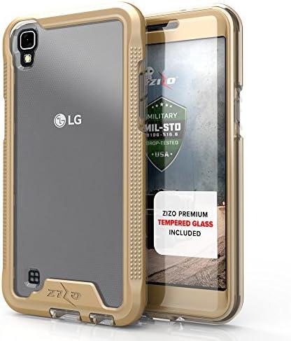 Zizo ION 시리즈 LG Tribute HD 케이스 밀리터리 등급 낙하 테스트 강화 유리 스크린 프로텍터 LG X 스타일 케이스 / Zizo ION 시리즈 LG Tribute HD 케이스 밀리터리 등급 낙하 테스트 강화 유리 스크린 프로텍터 LG X 스타일 케이스