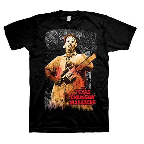 Texas Chainsaw Massacre Graphic T-Shirt - Large]()